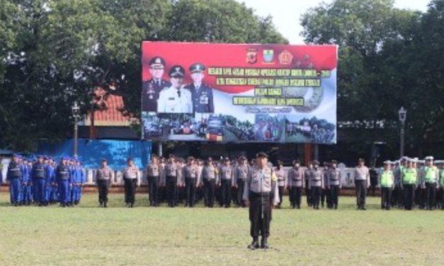 Jelang Pemilu 2019, TNI-Polri Laksanakan Apel Gelar Pasukan