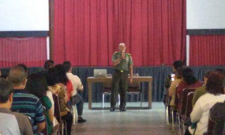 17 April, Danramil 04/Ckr Himbau Masyarakat Gunakan Hak Pilihnya