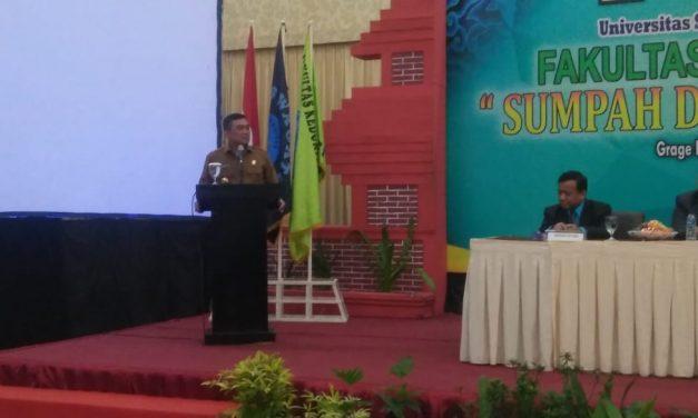 Aziz Berharap Lulusan Dokter UGJ Bangun Kesehatan Masyarakat Cirebon