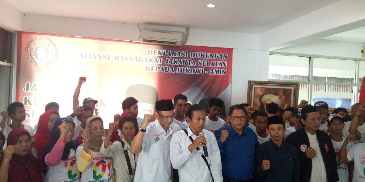 AMJS Targetkan Suara Jokowi-Ma'ruf 60 Persen